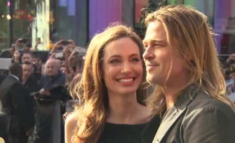 Brad Pitt and Angelina Jolie: Married!!!