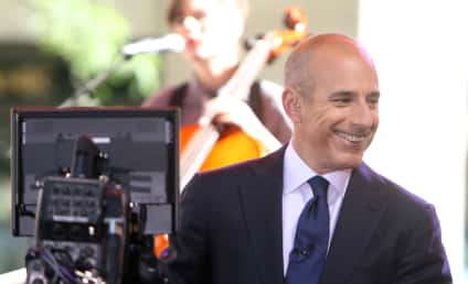 Matt Lauer Signs New Today Show Contract