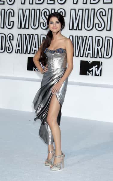 Selena in Silver