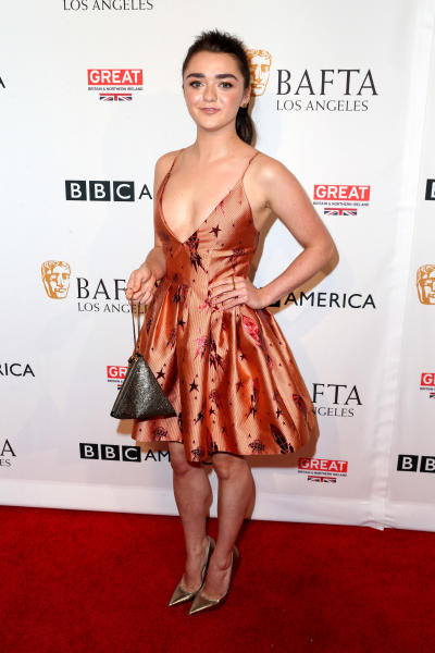 Maisie Williams on the Red Carpet