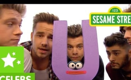 One Direction Bring Their Super Cuteness to Sesame Street: Watch Now!