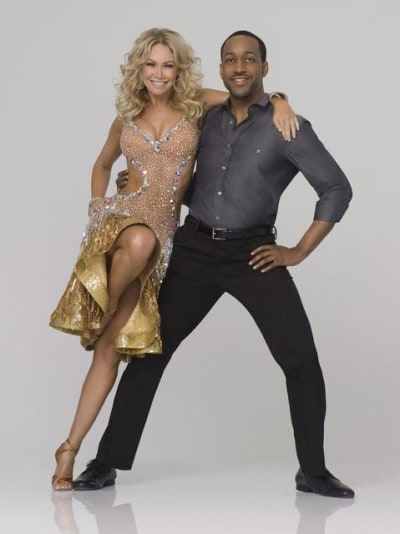 Jaleel White and Kym Johnson
