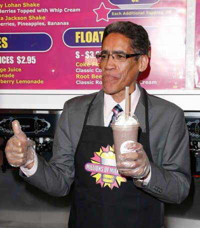 Ted Williams at Millions of Milkshakes