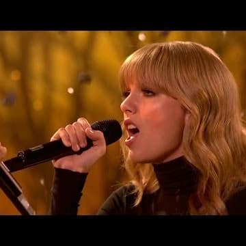 Taylor Swift The Last Time Live The Hollywood Gossip