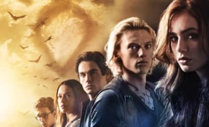 The Mortal Instruments: City of Bones Poster: Pretty People All In A Row