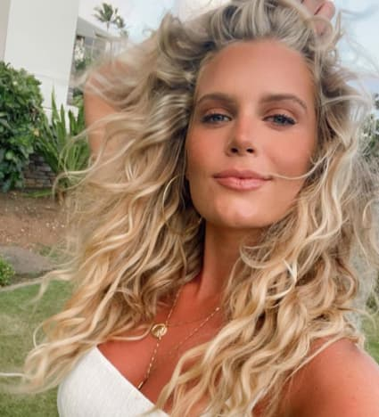 Madison LeCroy with Wild Hair