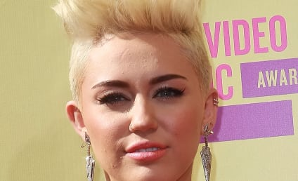 Miley Cyrus Makes Like Pink at MTV Video Music Awards