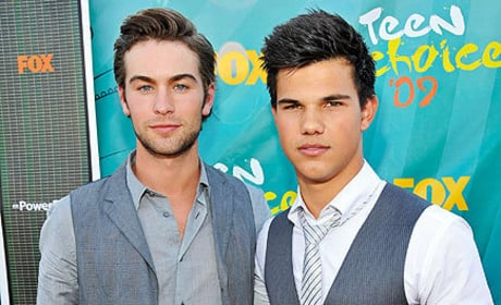 Chace Crawford and Taylor Lautner