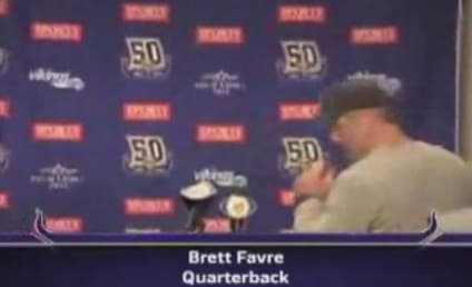 Brett Favre Makes Annual Retirement Speech