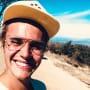Justin Bieber on the Beach