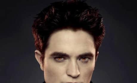 Robert Pattinson as Edward