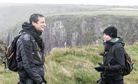 Courtney Cox Bear Grylls Running Wild