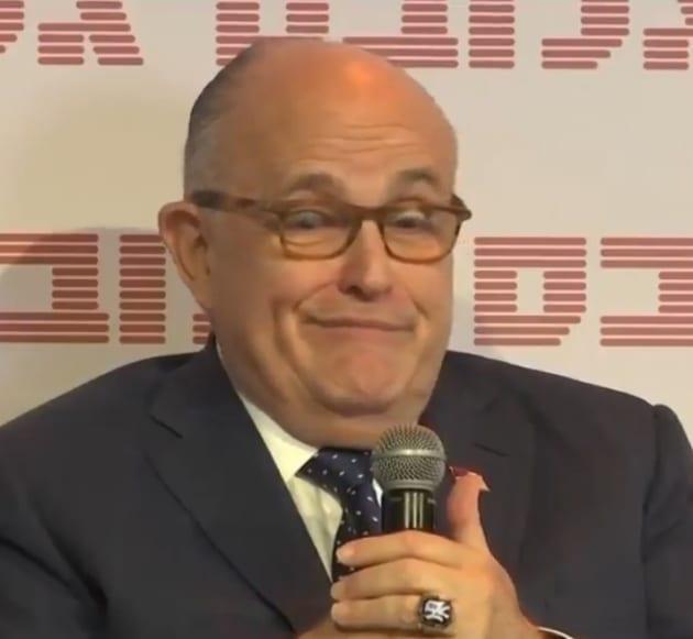 Rudy Giuliani is Dismissive