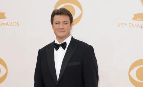 Nathan Fillion at the Emmys