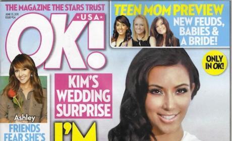 Kim Kardashian Tabloid Cover