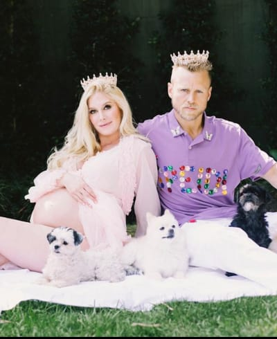 Spencer Pratt and Heidi Montag Maternity Shoot