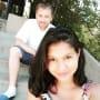 Karine staehle selfie with husband paul