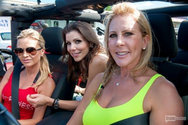 Vicki, Tamra, and Heather Hit Hawaii