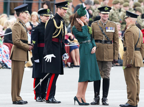 Kate Middleton, Prince William on St. Patrick's Day