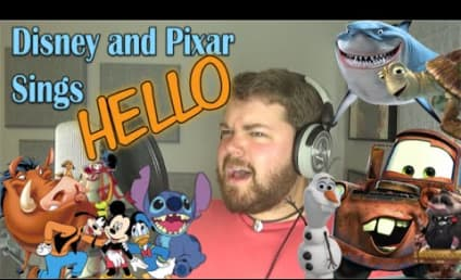 """Guy Brilliantly Covers """"Hello"""" As 30 Different Disney Characters"""