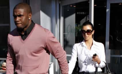 Spotted Together: Kim Kardashian and Reggie Bush!