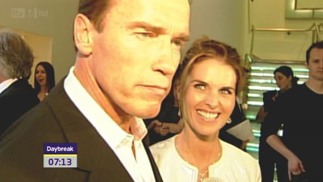 Arnold Schwarzenegger and Maria