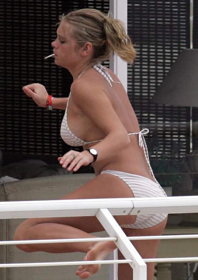 Chelsy Davy Bikini Photo