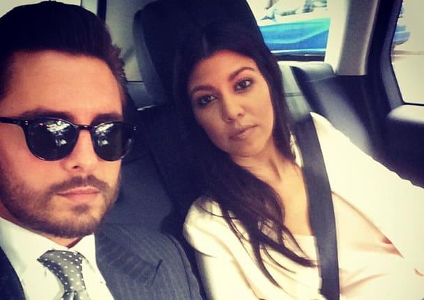 Kourtney Kardashian and Scott Disick Picture Together