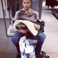 Man Shops with Wife