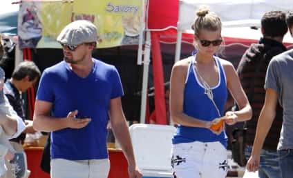 Toni Garrn: Leonardo DiCaprio Takes New Girlfriend Out In Public!