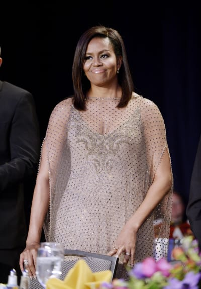 Michelle Obama at the 2016 White House Correspondents Dinner