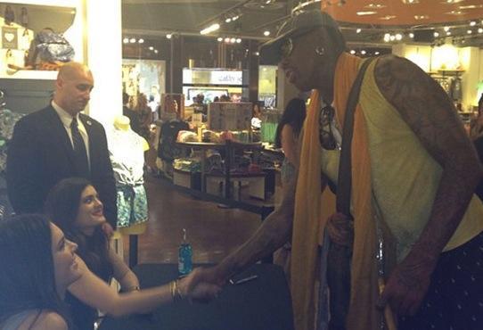 Rodman, Jenner Sisters