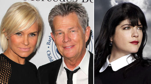 Yolanda and David Foster, Selma Blair