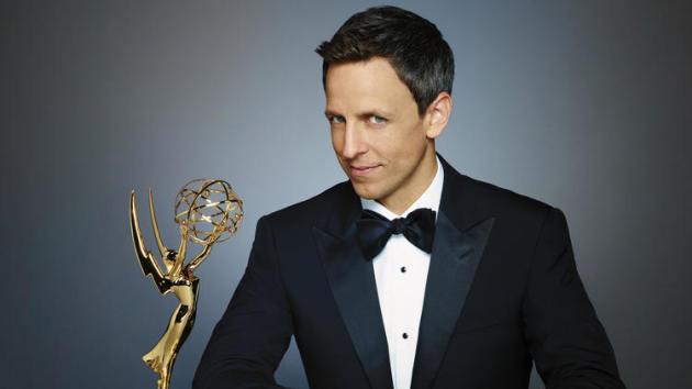 Seth Meyers Emmy Photo