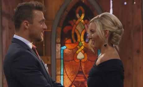 Chris Soules, Whitney Bischoff on Bachelor Season Finale