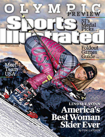 Lindsey Vonn SI Cover