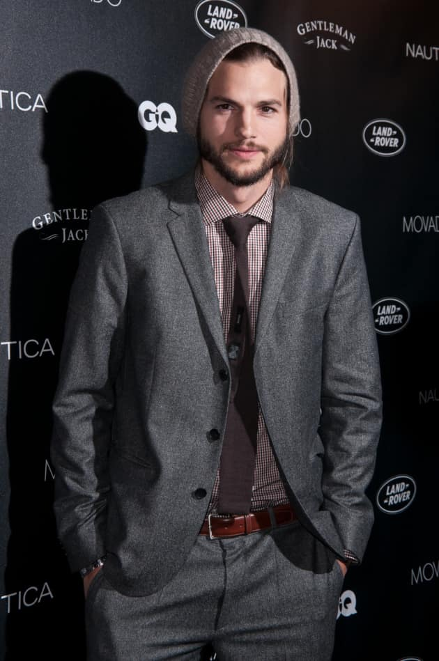 Ashton Kutcher at GQ Ball