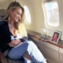 Brittany Kerr on a Plane