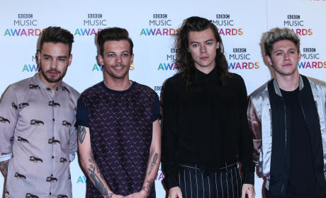 One Direction at the 2015 BBC Music Awards