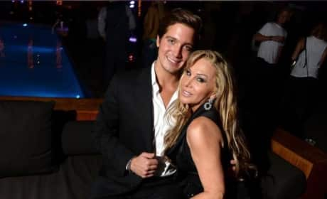 Jacob Busch Introduced as Adrienne Maloof Boyfriend