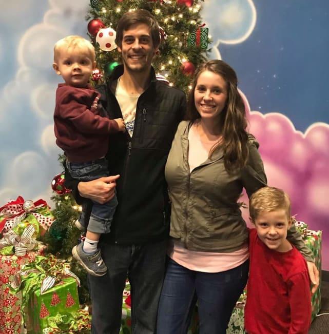 Derick and jill on christmas