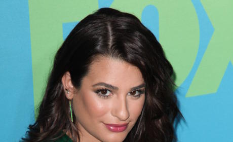 Lea Michele in NYC