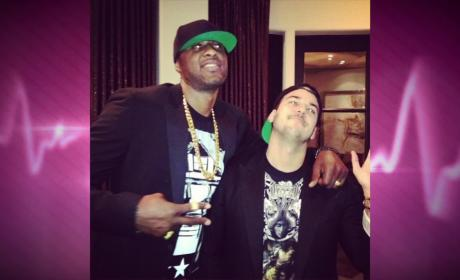 Rob Kardashian and Lamar Odom: Back Together!