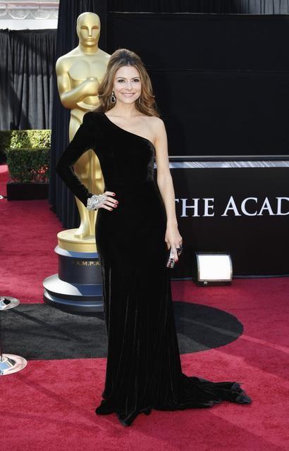 Maria Menounos at the Oscars