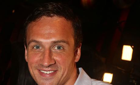 Ryan Lochte Visits Planet Hollywood