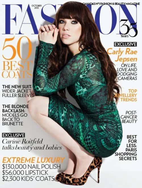 Carly Rae Jepsen Fashion Cover