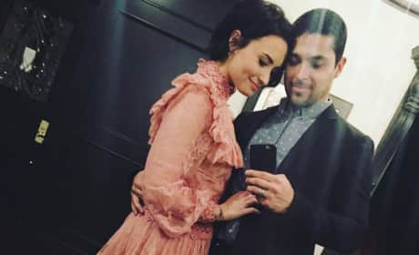 Demi Lovato and Wilmer Valderrama Take an Instagram