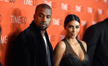 Kanye West and Kim Kardashian: 2015 Time 100 Gala