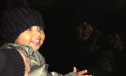 North West Smiles at the Zoo, Clearly Has Not Yet Seen Mom Naked