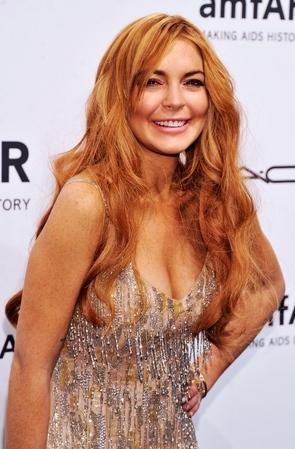 Lindsay Lohan at Fashion Week Pic